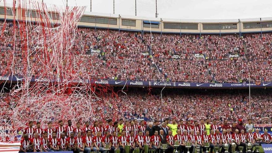 El Atlético despide el Vicente Calderón