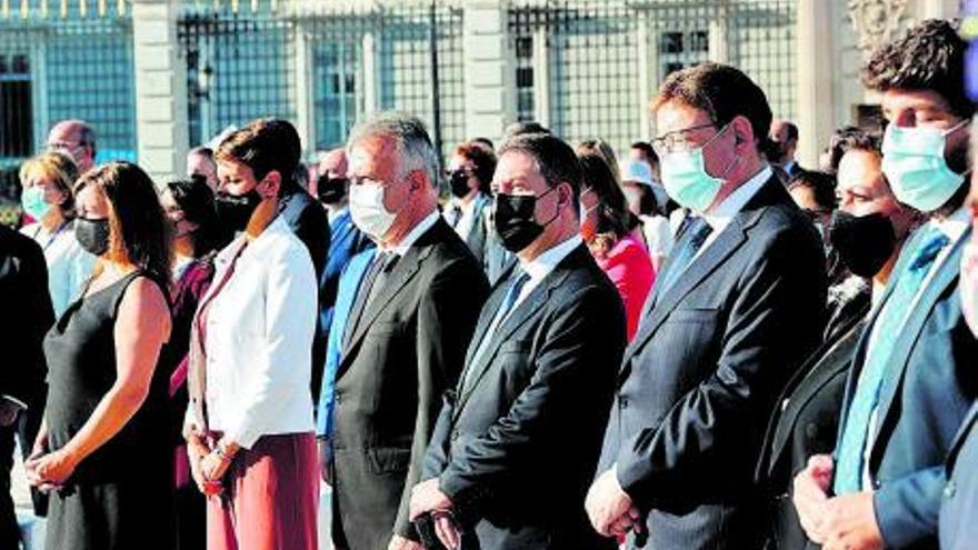 Armengol asiste al homenaje de Estado a víctimas y sanitarios