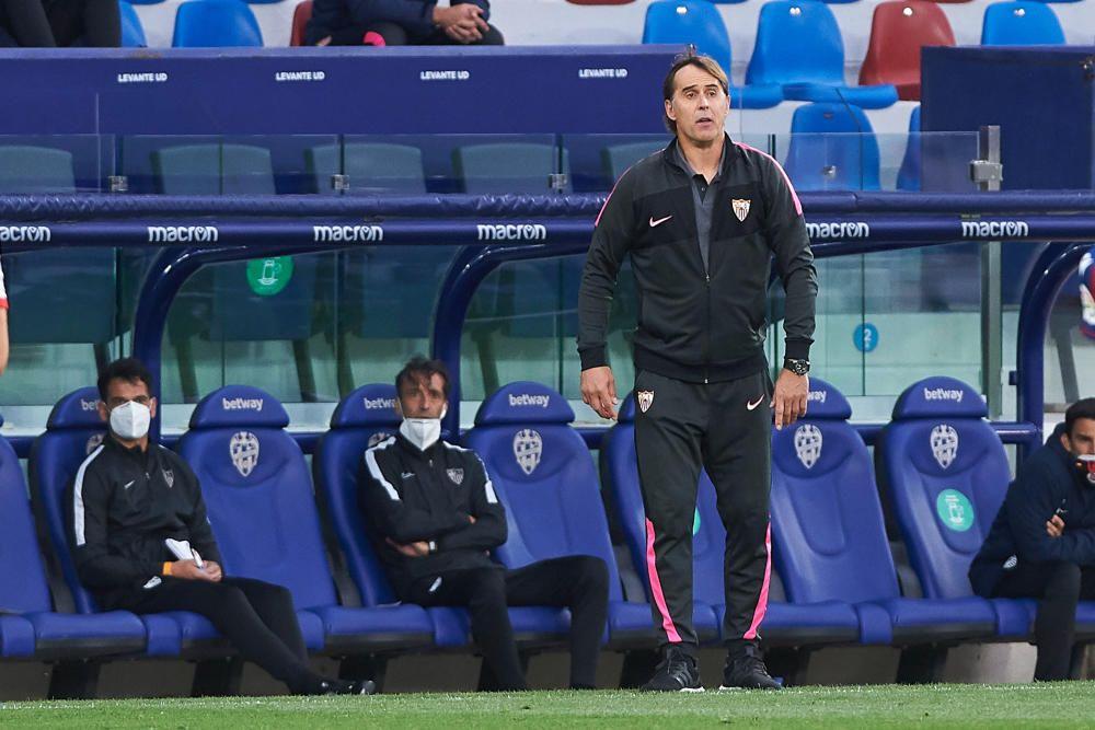 Levante - Sevilla, en imágenes