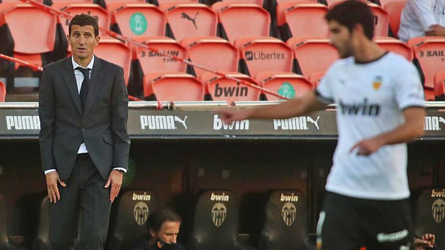 """Javi Gracia: """"Hemos salido a ganar, pero el rival también juega"""""""