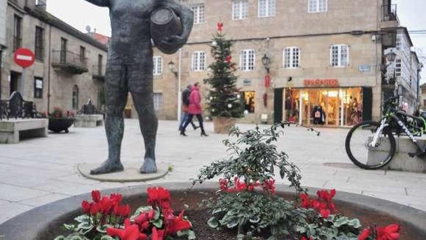 Cambados denuncia ante la Guardia Civil el robo de sus adornos navideños