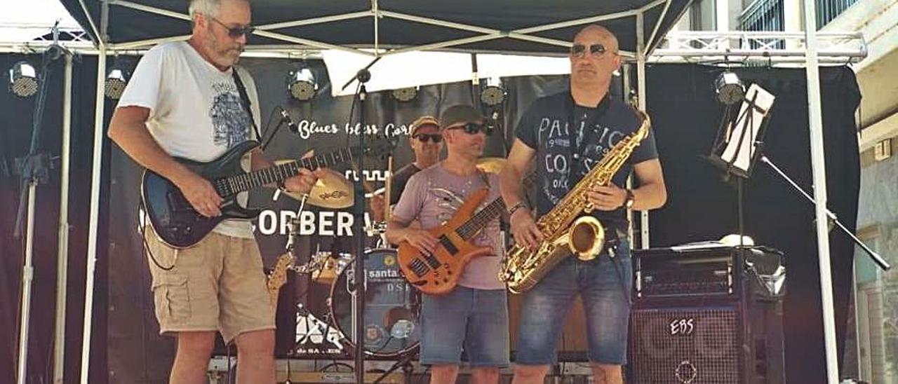 Una actuación en el Corbera Blues Festival. | LEVANTE-EMV