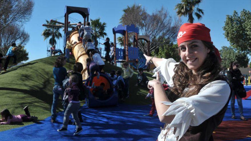 Los diez mejores parques para niños en la ciudad de Málaga