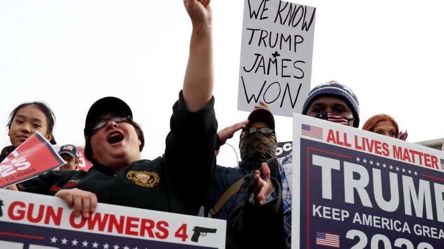 Directo | Elecciones en EEUU: Los jueces rechazan las primeras demandas de Trump