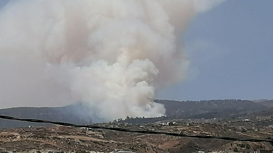 Incendio forestal en Tenerife (20/05/21)