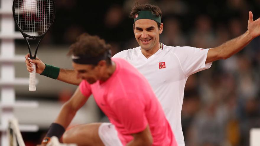 Récord mundial: Federer y Nadal unen a 52.000 personas