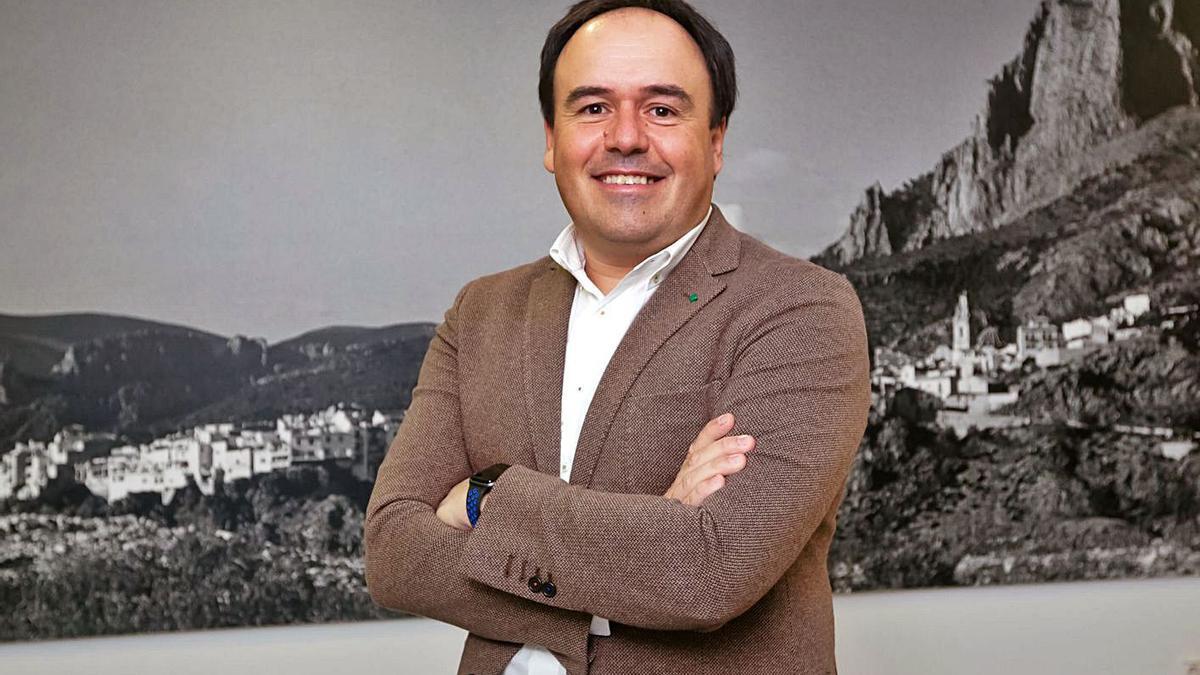 El diputado provincial del PP y alcalde de Finestrat, Juan Francisco Pérez Llorca. | INFORMACIÓN