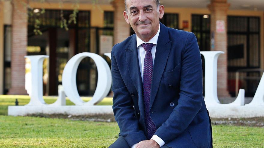 Gabriel Pérez Alcalá: «La Universidad Loyola está en el 'top' de la inserción laboral de alumnos»