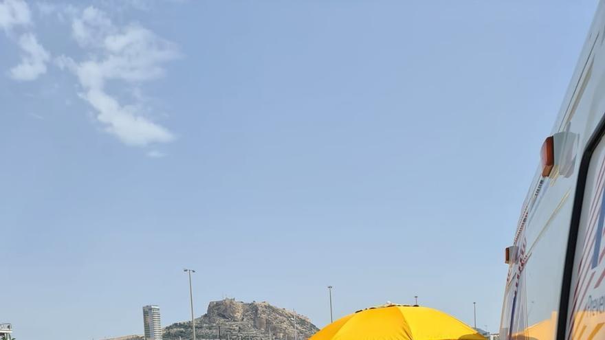 La AUGC denuncia los reconocimientos médicos a los guardias civiles de Alicante en un parking del Puerto
