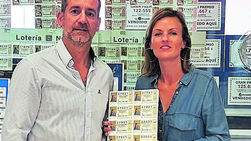Triunfa en Valencia el número de lotería de la reactivación del volcán de La Palma