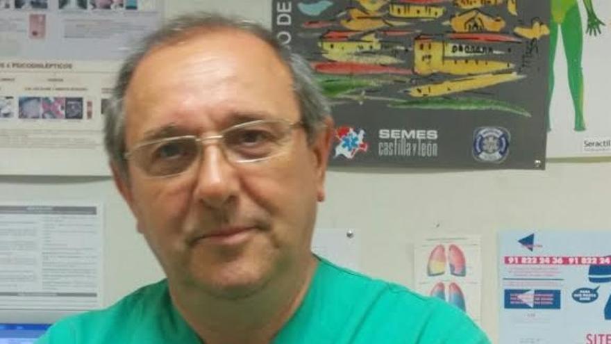 José Lázaro deja la jefatura de Urgencias del hospital de Zamora