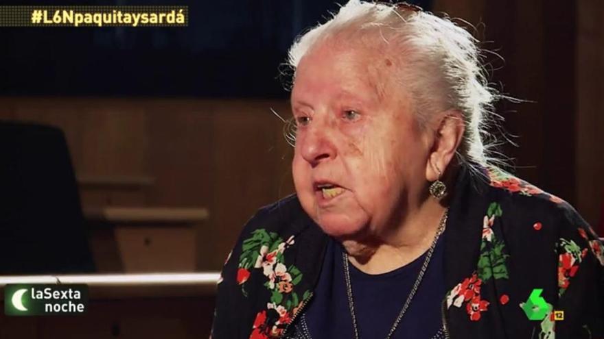 Muere Paquita Martín, la revolucionaria pensionista de 'La Sexta Noche'