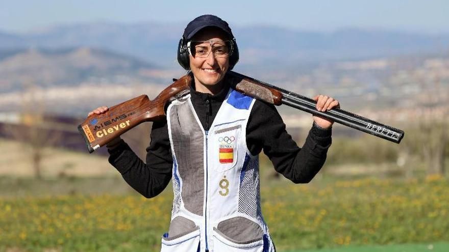 La tiradora baenense Fátima Gálvez vence en el Grand Prix Beretta