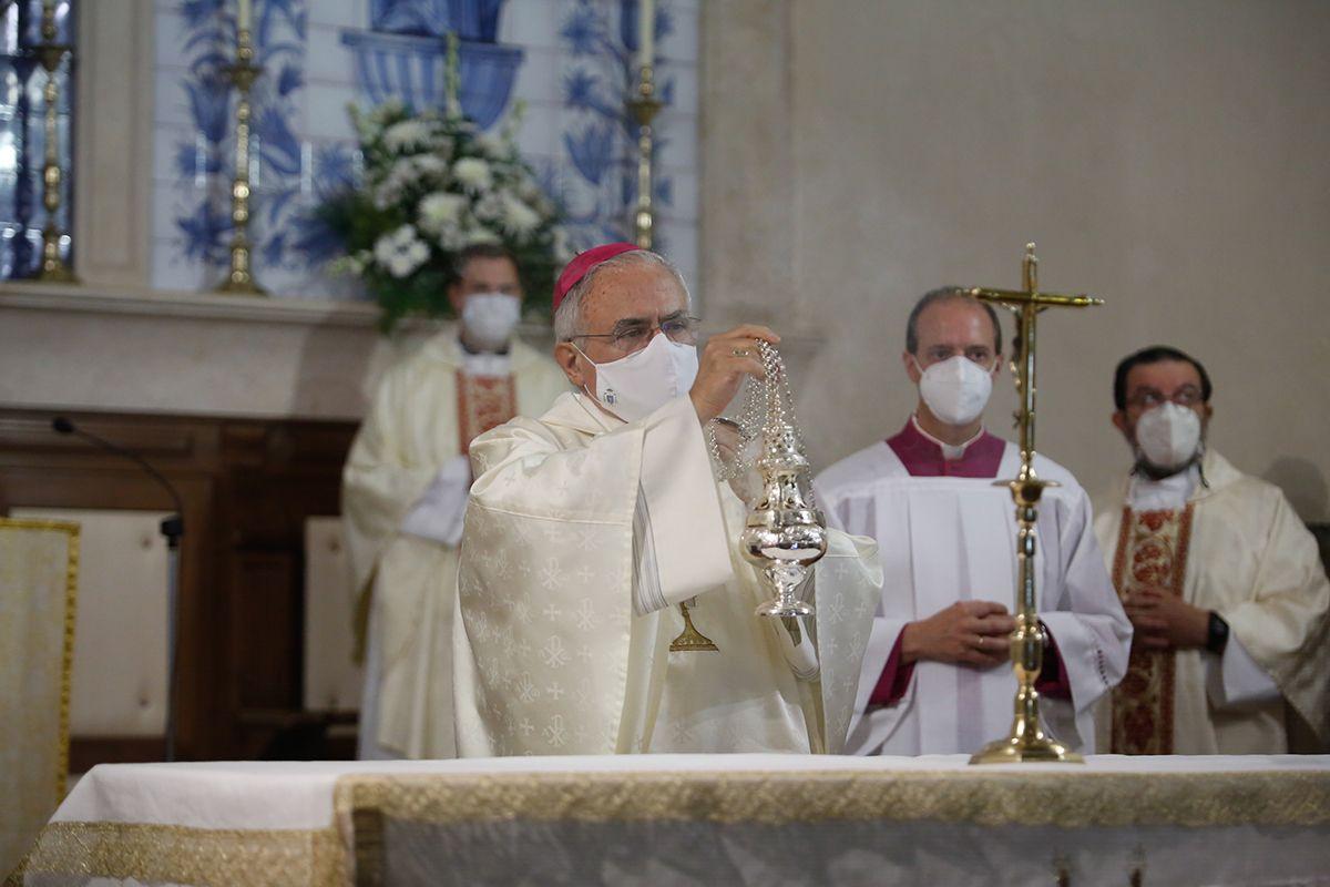 El obispo preside la tradicional misa de la festividad de la Virgen de la Fuensanta
