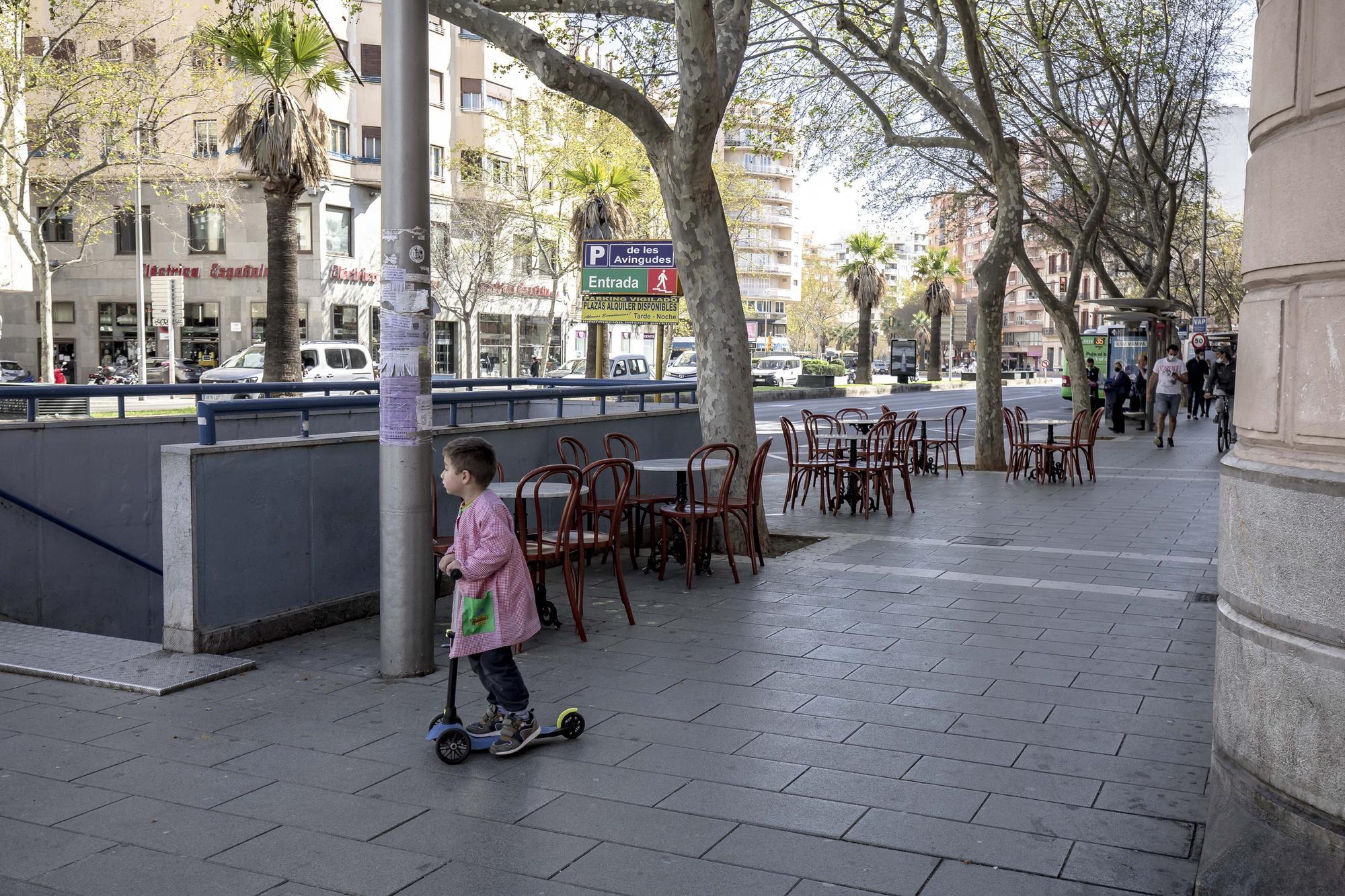 Can Joan de s'Aigo tiene nueva terraza