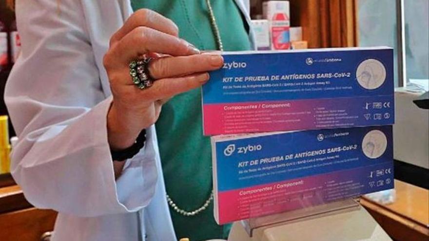 Los test de antígenos ya están agotados en las farmacias de Málaga
