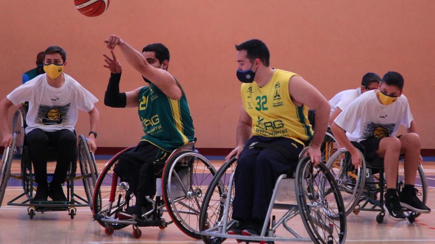 Fundación Rincón y AMIVEL llevan el basket en silla de ruedas al NEXXO Camp