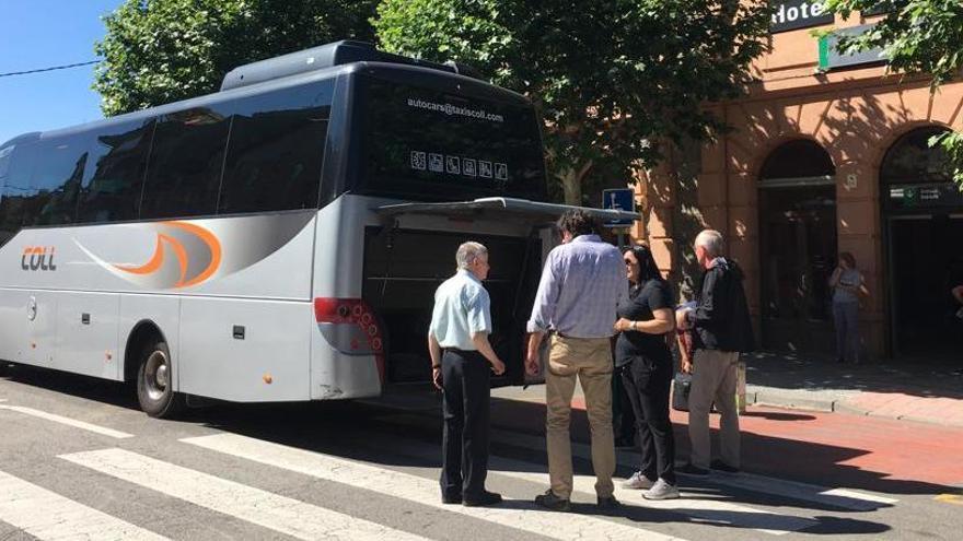 Renfe activa un servei de bus entre la Tor i Planoles fins el mes de febrer