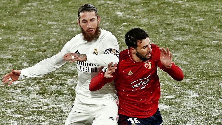 El Real Madrid se congela en Pamplona