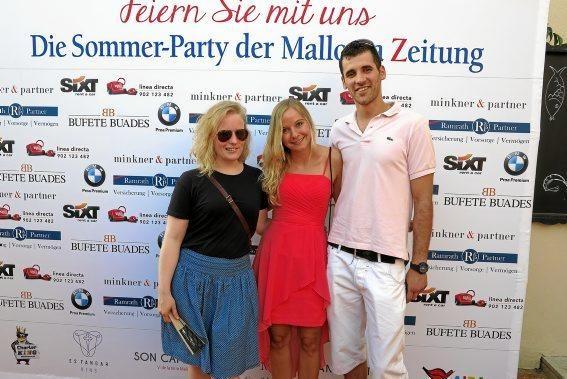 MZ-Redakteurin Sophie Mono (Mi.) mit Nicolás Méndez, Inga Lüßmann