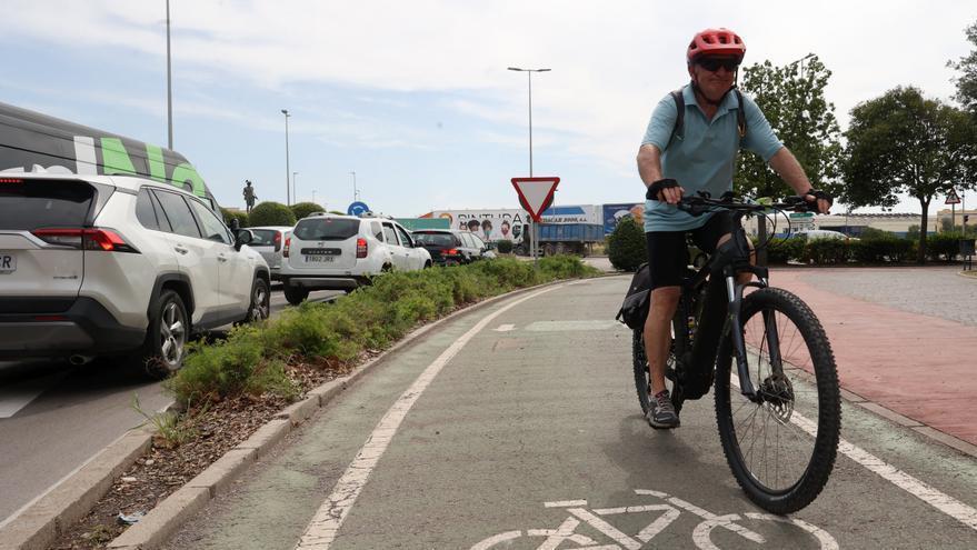 Castello apuesta por el transporte público y la bicicleta