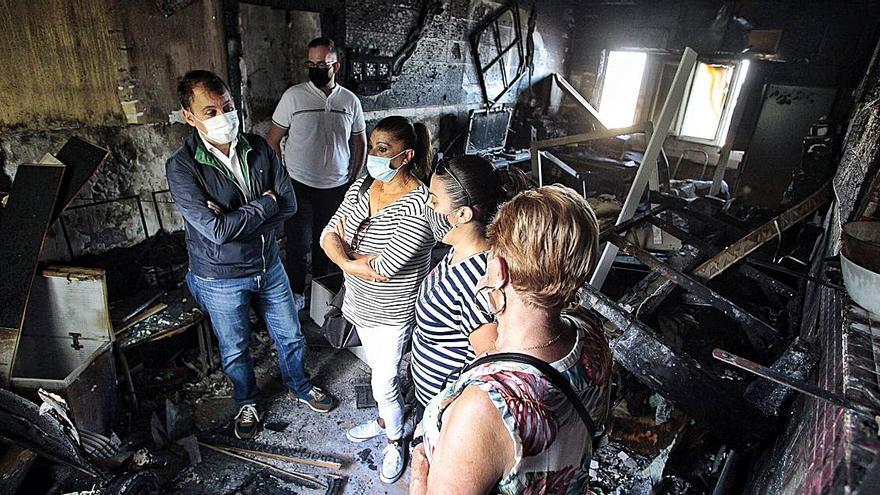 El Ejecutivo regional espera  los papeles del seguro para arreglar la casa de Tamara