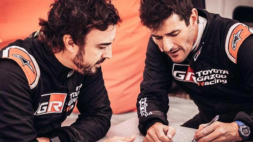 Toyota oficialitza Marc Coma com a copilot de Fernando Alonso