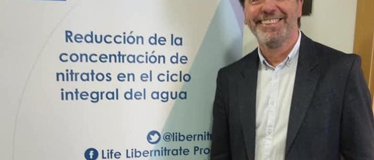Julio García, alcalde del municipio. | LEVANTE-EMV