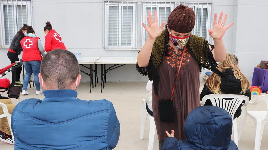 Cruz Roja en Zamora organiza un encuentro con familias de acogida