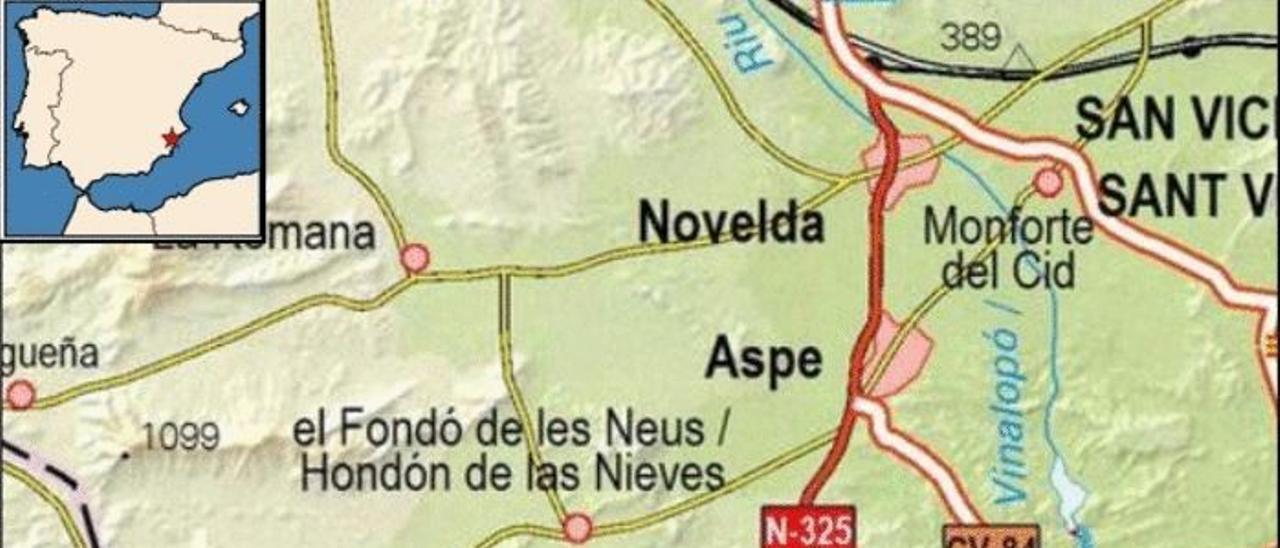 Hondón de las Nieves sufre un seísmo de 1,9 en la escala de Richter