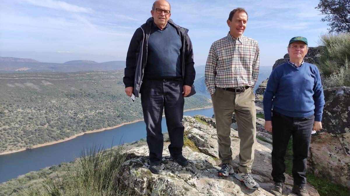 Butragueño visita el Parque Nacional de Monfragüe