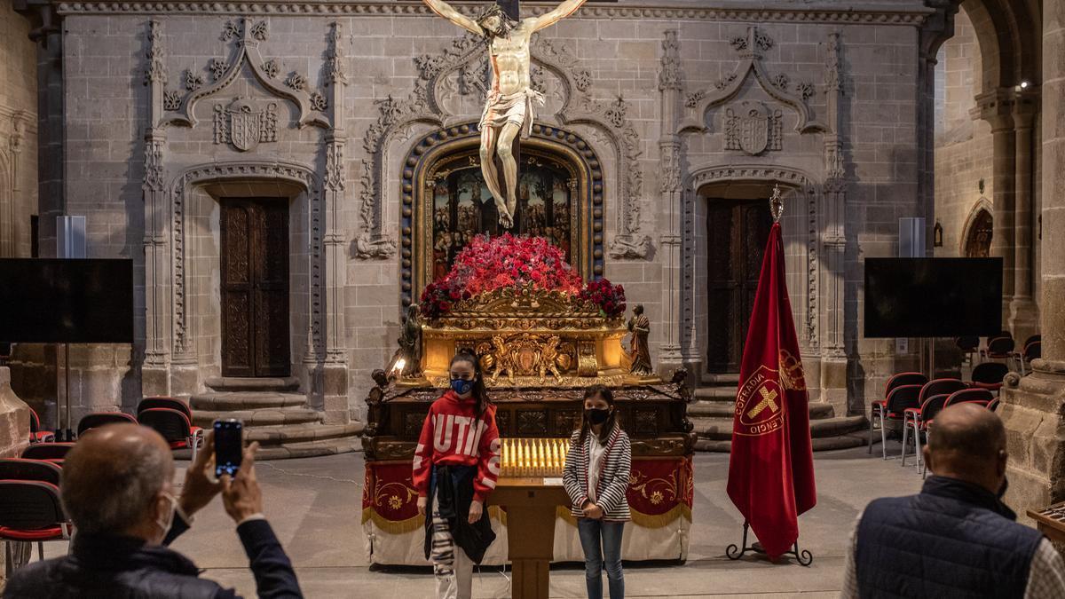 El Cristo de las Injurias, en la Catedral