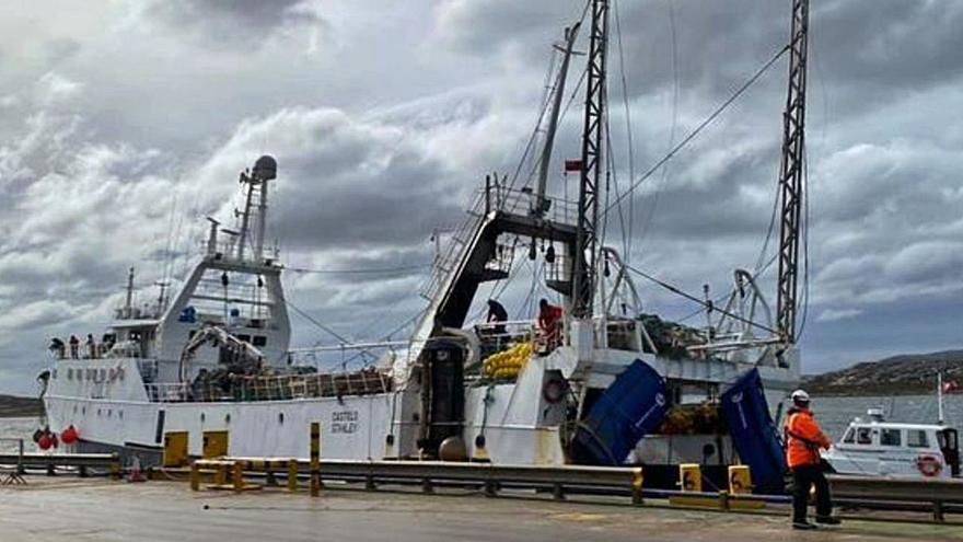 """La armadora del """"Baffin Bay"""" hará la campaña de Malvinas con un barco de la competencia"""