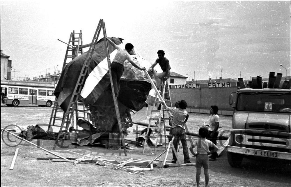HOGUERAS. 1972.