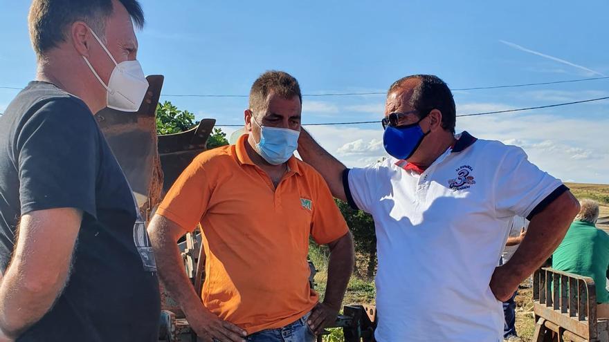 La Diputación ayudará a los ganaderos de El Maderal afectados por el incendio