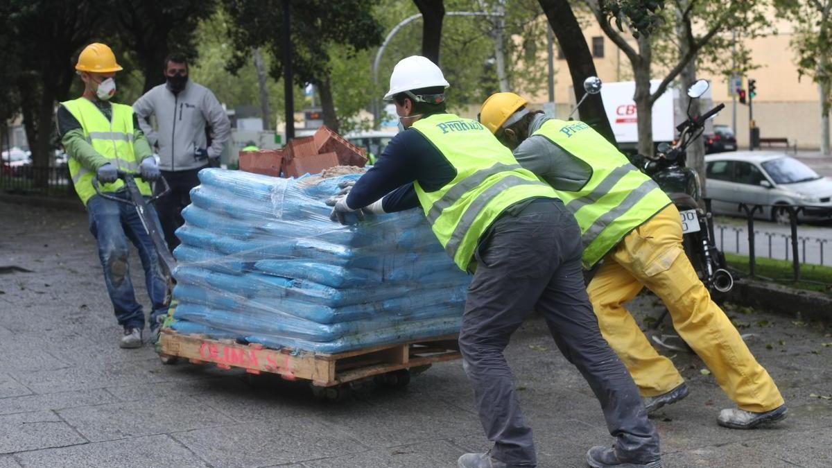 Los trabajadores de la construcción harán un cuestionario de salud y jornada continua