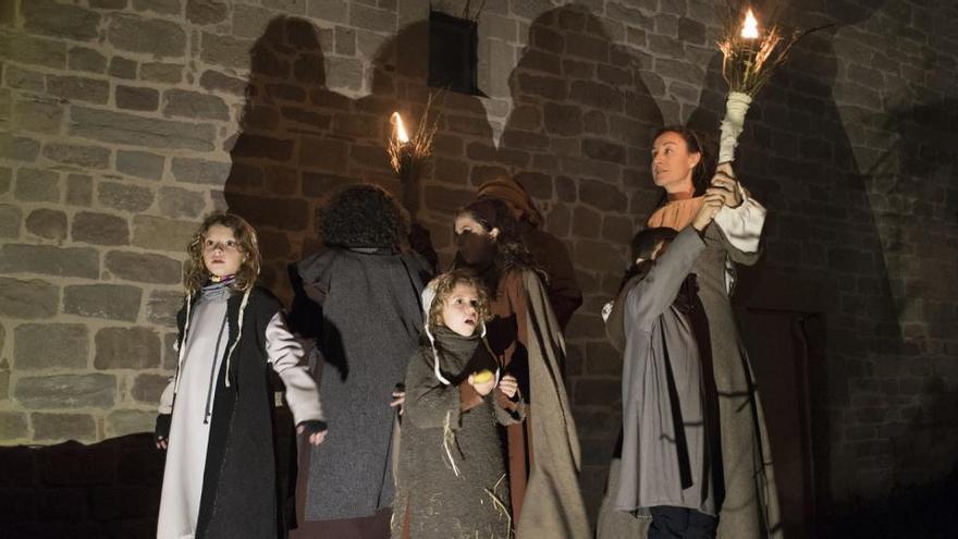 Món Sant Benet suspèn la tercera edició del pessebre vivent al monestir