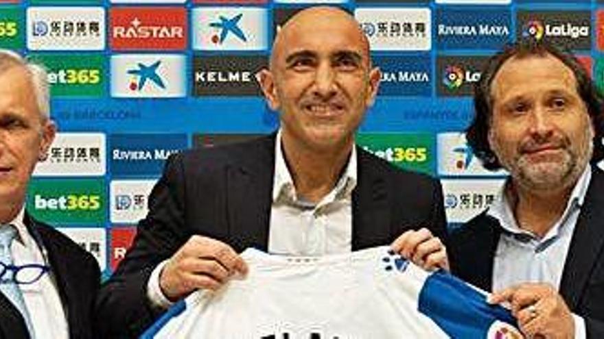 Abelardo: «Em ve molt de gust el repte de l'Espanyol»