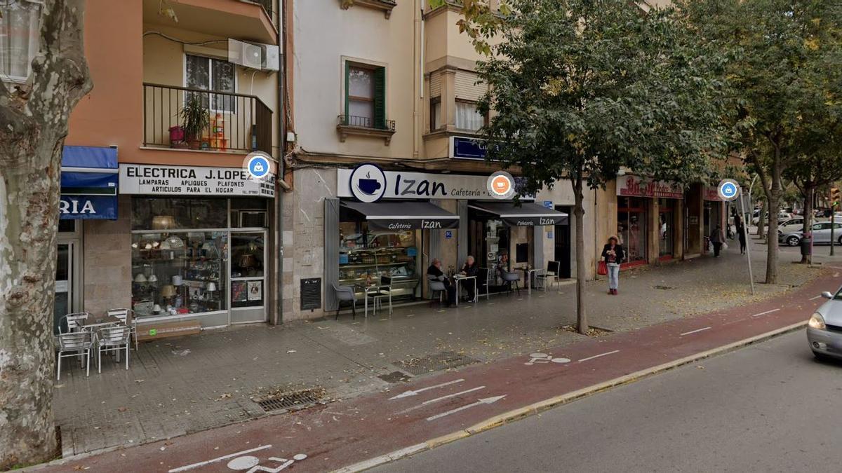 La biblioteca estará en esta parte de la plaza Pere Garau.