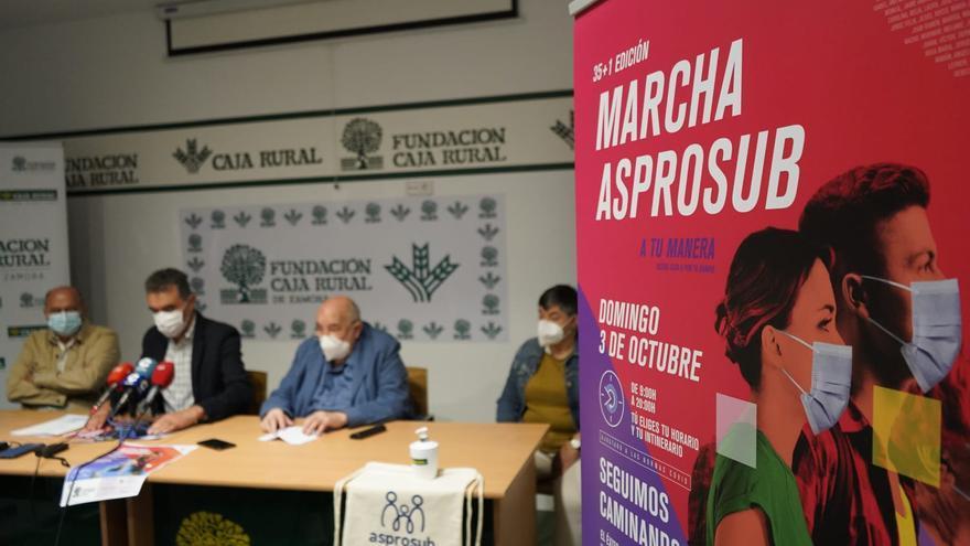 VÍDEO | La marcha de Asprosub Zamora regresa de manera virtual
