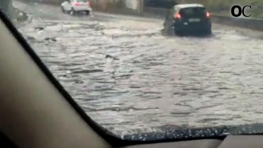 La lluvia provoca numerosas incidencias en A Coruña y área metropolitana