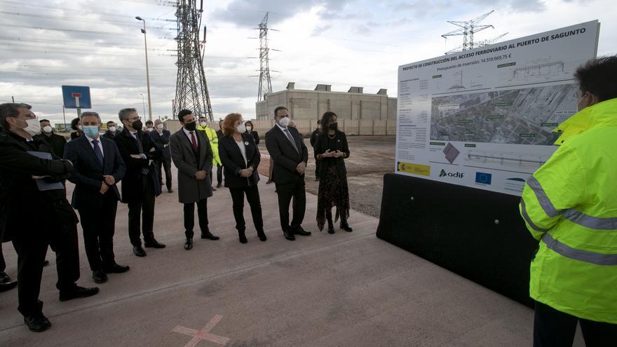 Ábalos destaca el impulso al Corredor con un 50% más de fondos a la línea Sagunt-Teruel-Zaragoza