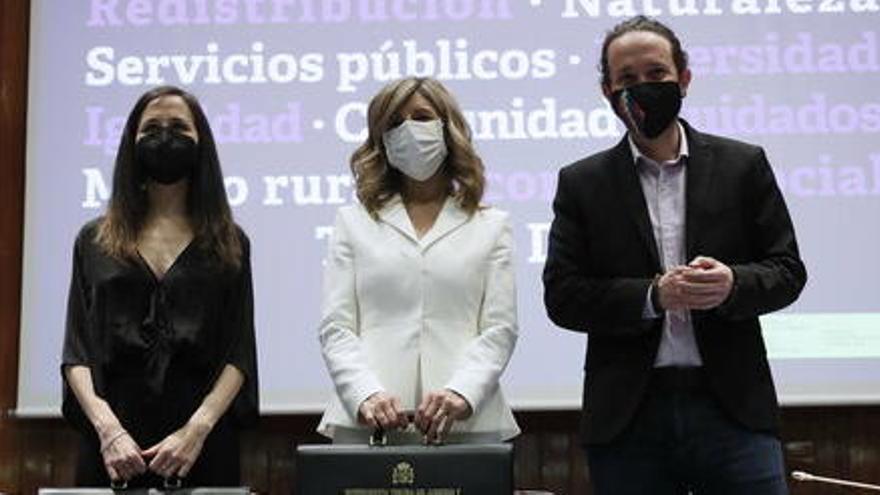Ione Belarra es prepara per succeir Pablo Iglesias al capdavant de Podem
