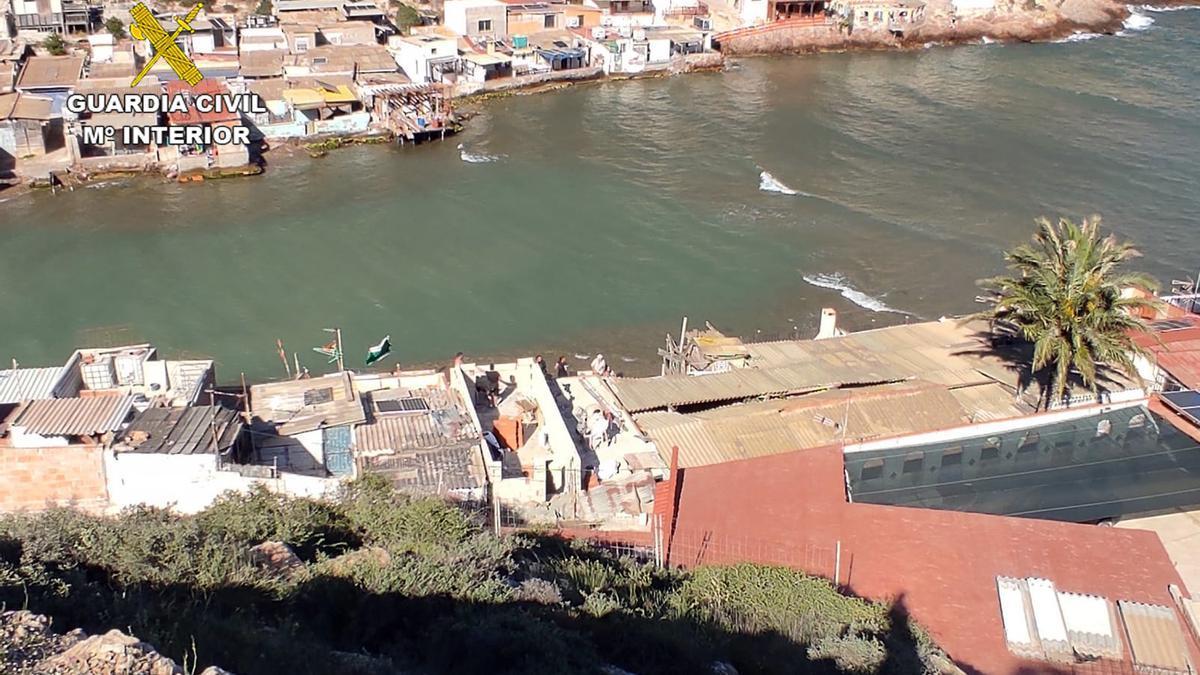 Lugar donde se ha producido la inspección, en Cartagena.