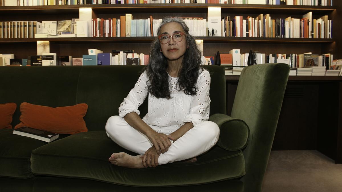 La escritora Cristina Rivera Garza.
