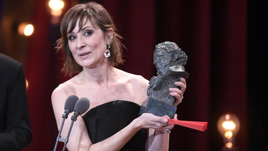 Nathalie Poza, mejor actriz por 'No sé decir adiós'