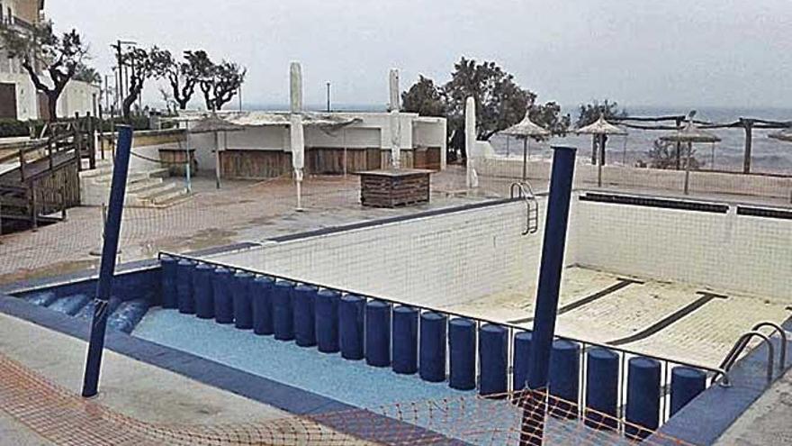La piscina del Mar y Paz de Can Picafort será eliminada