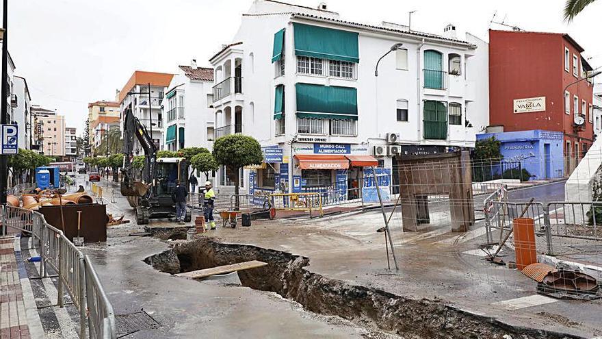 Mejoran el saneamiento en una de las arterias de San Pedro