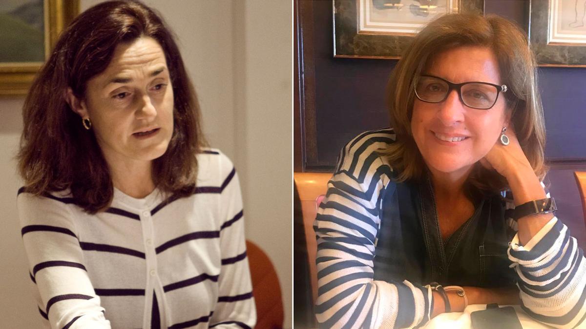 Ana Llaneza Folgueras y Yolanda Fernández Pérez.