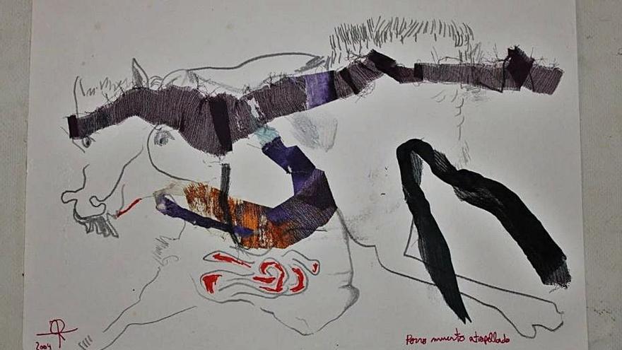 Exposición conjunta de Jessica Sturges y Luis Cabezudo en Can Portmany de Sant Rafel